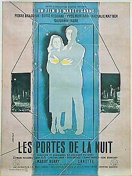 """French movie """"Les Portes de la nuit"""" (1946)"""