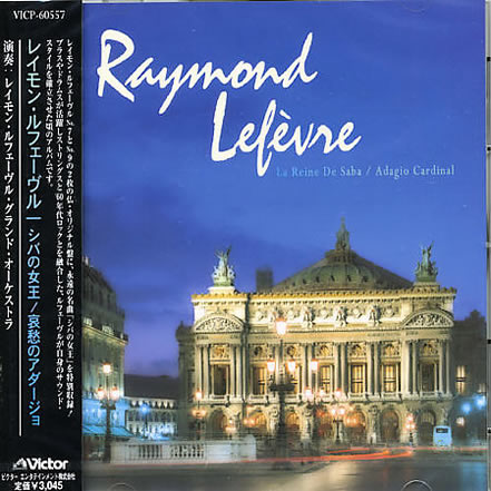 Raymond Lefevre's CD issued by Japan JVC