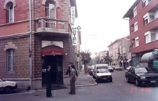 In front of ZIO hotel in 1993