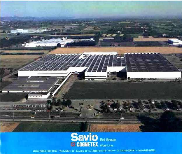 """从""""伊莫拉""""(IMOLA)小城所想起的--2005元旦有感萨维欧(SAVIO)工厂全貌 (A bird's-eye view of the SAVIO of ENI in Imola of Italy)"""