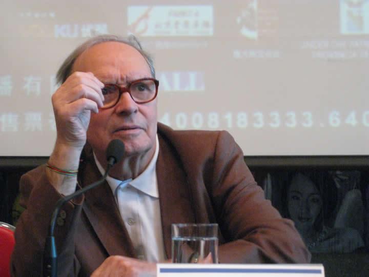 Morricone press conference