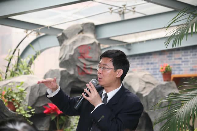 2009.5.24 苏毅作为筹备组组长在北京莫迷网联成立会议上作主题发言