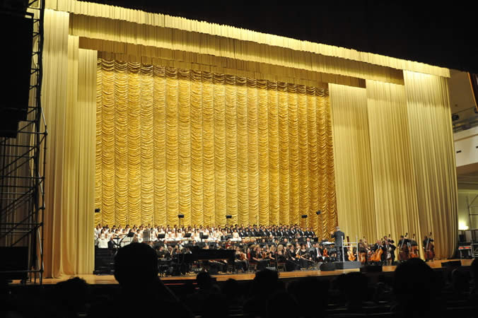 20090523晚北京人民大会堂莫里康内电影往事音乐会