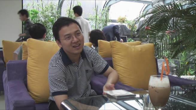 崔远代表在莫迷网联成立会议上