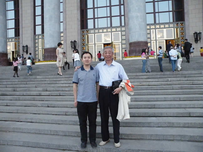 May 24,2009 in Beijing Great Hall of the People (Before Morricone concert)
