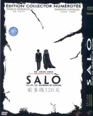 LE 120 GIORNATE DI SODOMA ( SALO OR THE 120 DAYS OF SODOM, 1975) PASOLINI