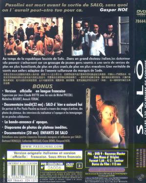 LE 120 GIORNATE DI SODOMA ( SALO OR THE 120 DAYS OF SODOM, 1975)