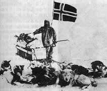 挪威极地探险家阿蒙森遇难