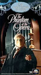 The phantom of the opera The mivie was produced by UK Hammer IN 1962. Starred by Herbert Lom.