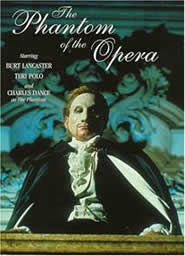 The phantom of the opera The movie was produced by Tony Richardson in 1990
