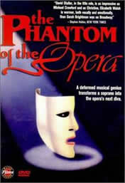 The phantom of the opera The movie is in 1991. Its composers are Lawrence Rosen and Paul Schierhorn