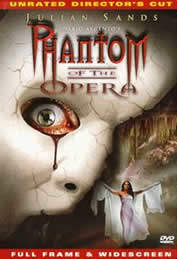 The phantom of the opera The movie was produced by Italian Dario Argento in 1998. Its composers are Ennio Morricone and Georges Bizet and Léo Delibes