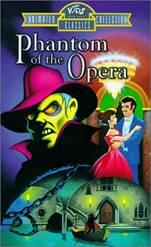 歌剧魅影 1998年推出的一部同名动画,很适合青少年了解魅影的故事