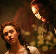 "The phantom of the opera This newest movie is in 2004,it just is ""Andrew Lloyd Webber's The Phantom of the Opera"". The director is Joel Schumacher. Starred are Gerard Butler andEmmy Rossum."