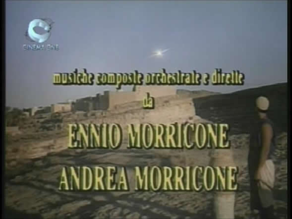 Composed by Ennio Morricone and his son Andrea Morricone