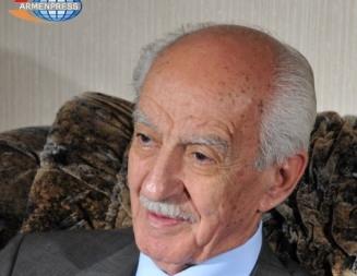 Armenian intelligence agent, hero of the Soviet Union Gevorg Vardanian passed away