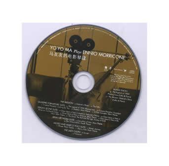 """YO-YO MA plays ENNIO MORRICONE"" CD was published in China continent"