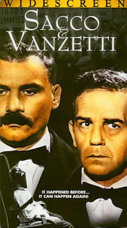 电影� Sacco and Vanzetti 封面