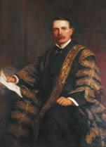 国库大臣大卫洛依乔治的画像(克里斯托弗威廉斯1911年作)