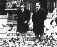 帕索里尼与尼奈托・达沃蒂在威尼斯电影节