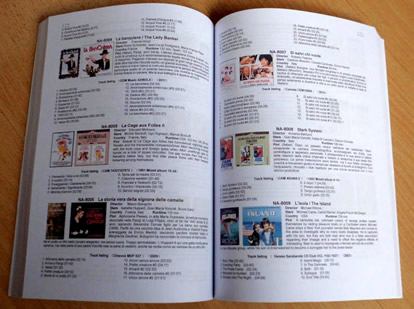 """Ennio Morricone Fans Handbook"" 2013 English edition"
