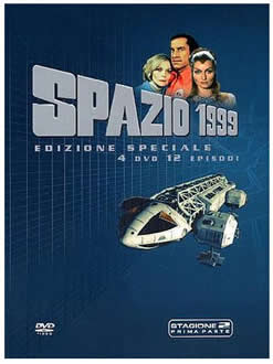 SPAZIO 1999 E.S.STAG.2 VOL.1 (4DVD) Directed by Lee Katzin, Martin Landau