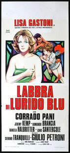 Labbra di lurido blu (Giulio Petroni) (直译 耸人听闻的蓝色嘴唇)