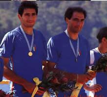 Left: Carmine Abbagnale; Right: Giuseppe Abbagnale