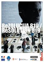 Risoluzione 819/Resolution 819 (Giacomo Battiato) (直译 819号决议)