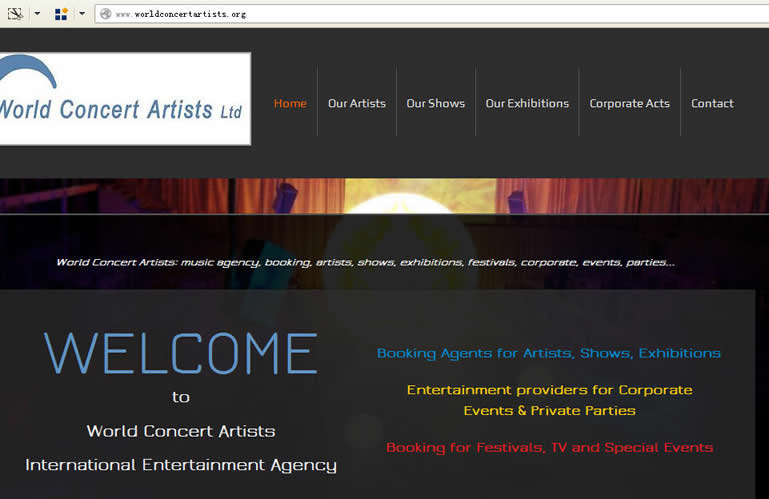 WORLD CONCERT ARTISTS LTD.