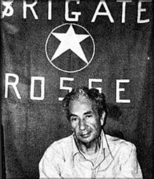 莫罗被红色旅绑架期间的照片
