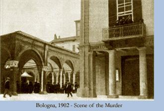 Bologna 1902 scene of the murder