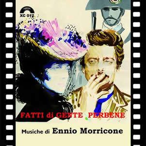 "The OST of the film "" Fatti di gente per bene"" 2010 edition with 31 music"