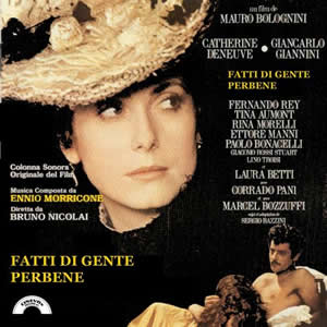 "The OST of the film "" Fatti di gente per bene"" 2006 edition with 18 music"