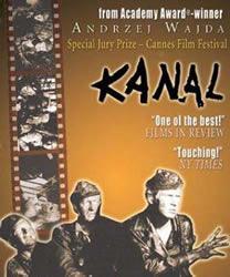 《地下水道Kanal 》(1957) 三部曲之二,1944华沙战役题材