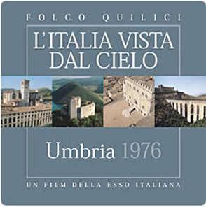 """电影""""翁布里亚"""" 由埃索1976年拍摄 2003年重版的系列电影""""从天空看意大利"""""""