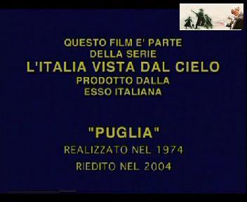 QUESTO FILM E'PARTE DELLA SERIE L'ITALIA VISTA DAL CIELO PRODOTTO DALLA ESSO ITALIANA