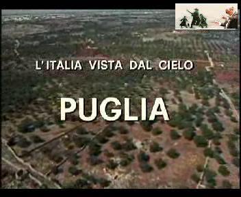 """""""从天空看意大利""""-普利亚(大区)"""
