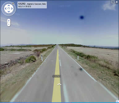 离开高速公路来到了普通公路,由于车辆不多,所以行驶速度也不慢