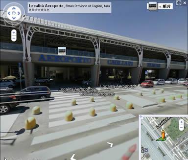 Google地图显示的机场大厅三维地图(2011).从机场完整的鸟瞰视图来看,十几年来,已经进行了很多扩建工程,机场面貌已有了很大的变化.作为曾经在那里留下足迹的客人,我也为它的发展感到高兴