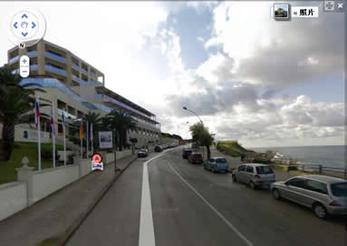 阿尔盖罗Carlos Hotel的近景