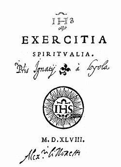 Exercitia spiritualia 1548